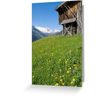 Alpine Barn Greeting Card