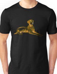 Goosebumps Dog Halloween Painting Unisex T-Shirt