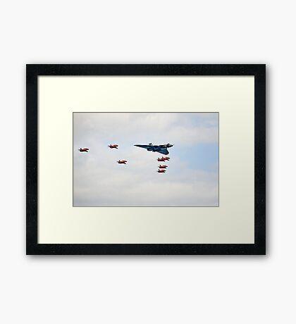 Vulcan Arrows Framed Print