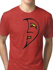 Man in the Moon. Tri-blend T-Shirt