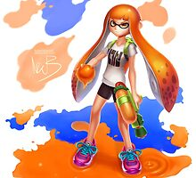 Splatoon by hybridmink