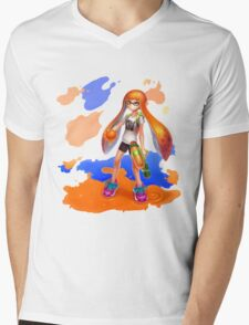 Splatoon Mens V-Neck T-Shirt