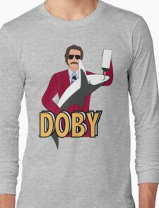 Ron Burgundy and Doby Long Sleeve T-Shirt