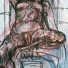 Nude Descending a Chair by Darvek
