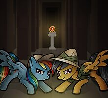 Daring Do and the Disorder of the Phoenix by Christa Diehl