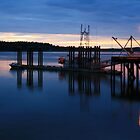 Tofino Harbour - Vancouver Island by Derek Fogg