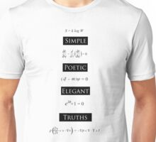 Simple Poetic Elegant Truths Unisex T-Shirt