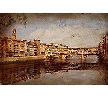 Ponte Vecchio #2 Photographic Print
