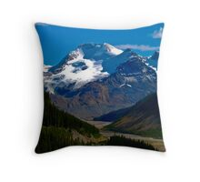 Route 93 to Jasper Throw Pillow