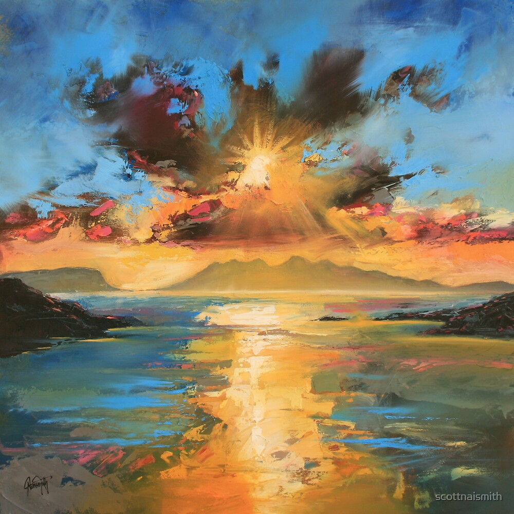 Morar Sunset by scottnaismith