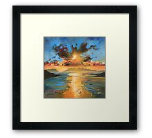 Morar Sunset Framed Print