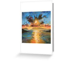 Morar Sunset Greeting Card