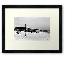 Arpoador Beach Framed Print