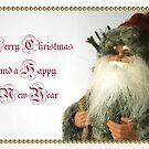 Vintage inspired Christmas card by patjila