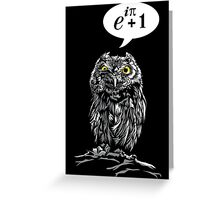 Zero Hoots Given Greeting Card