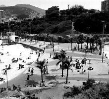 Arpoador Square, Rio de Janeiro, Brazil by Guilherme Pontes