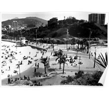 Arpoador Square, Rio de Janeiro, Brazil Poster