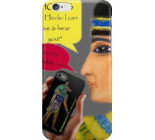 Cleopatra goes iPhone iPhone Case/Skin