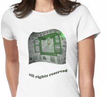 all rights reserved Womens Fitted T-Shirt