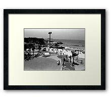 Devil's Beach and Arpoador Square Framed Print