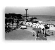 Devil's Beach and Arpoador Square Canvas Print