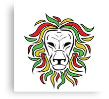 Rasta Lion Canvas Print