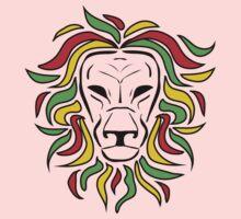 Rasta Lion Baby Tee