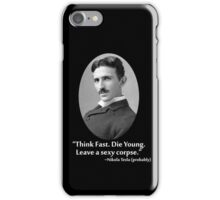Sexy Tesla 01 iPhone Case/Skin