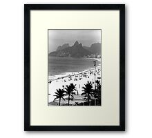 Ipanema Beach Framed Print