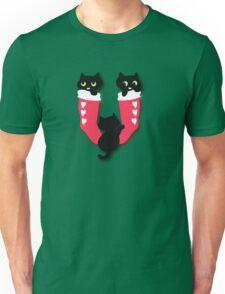 Filled Christmas Socks Unisex T-Shirt