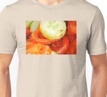 Cucumbers and Tomatoes  Unisex T-Shirt