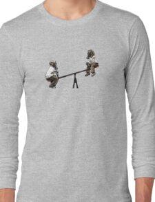 Kids IN GAss MAsks Long Sleeve T-Shirt