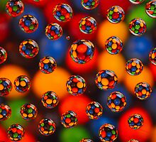 Rainbow Drops by Rod Wilkinson