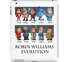 Robin Williams Evolution iPad Case/Skin
