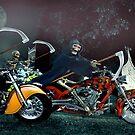 Night Riders by Steven  Agius