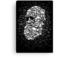Darwin; Endless Forms Canvas Print