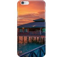Fireworks of Colors. Maldives  iPhone Case/Skin
