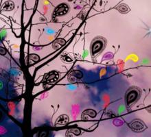 The Paisley Tree Sticker