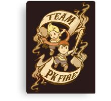 Team PK Fire Canvas Print