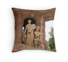 Commonwealth Fountain, Glasgow Green Throw Pillow