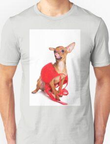 Glamorous red dog T-Shirt