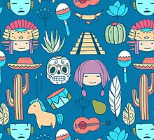 Mexican pattern by olarty