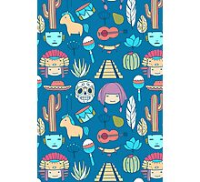 Mexican pattern Photographic Print