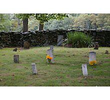 Old Virginia Cemetery Photographic Print
