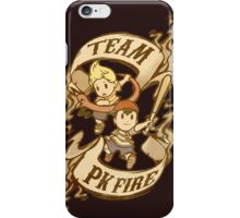 Team PK Fire iPhone Case/Skin