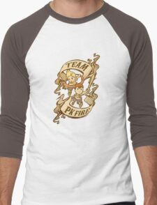 Team PK Fire Men's Baseball ¾ T-Shirt