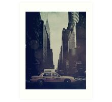 Vintage NYC Art Print