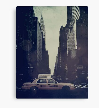 Vintage NYC Canvas Print