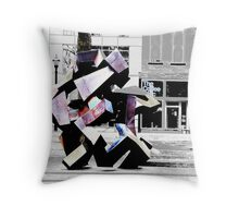 Ethic color touch Throw Pillow