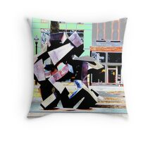 Ethic color color Throw Pillow